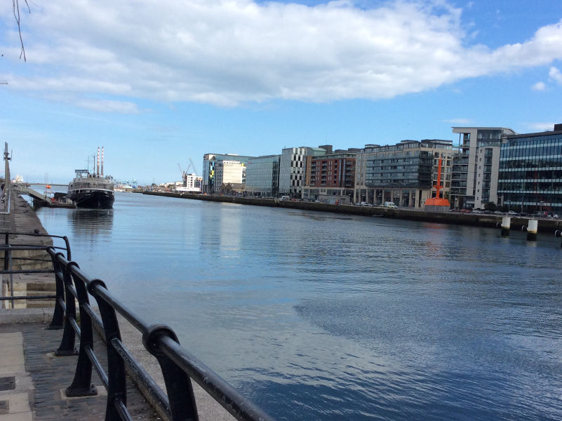 Dublin, Hafen, 23. April 2016