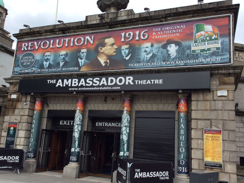 15. April 2016 - Dublin - Ausstellung Revolution